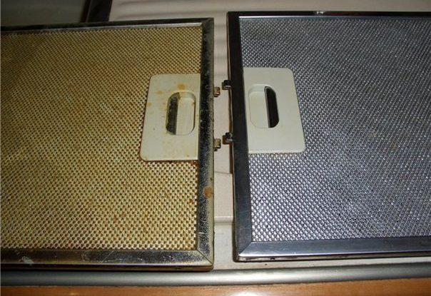 cisteni filtru v digestori