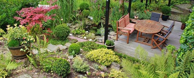 na terase se příjemně relaxuje
