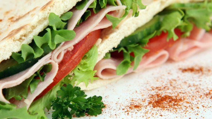 domácí sendvič
