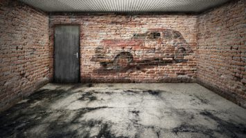menší garáž