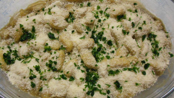 kuřecí gnocchi