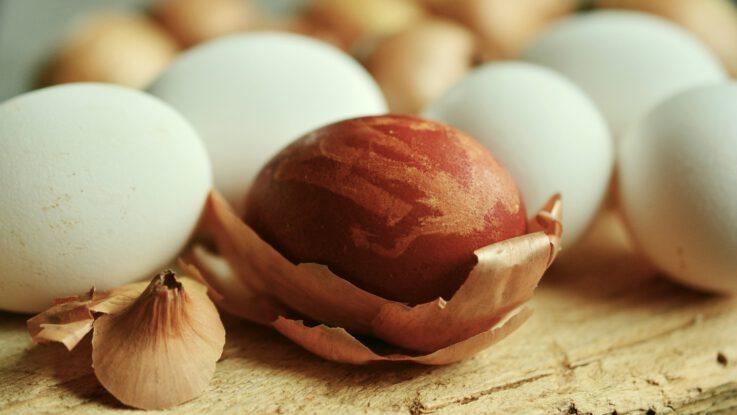 barvení vajec