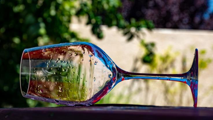 čisté sklenice