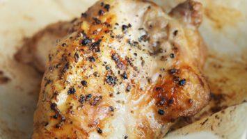 pečené kuře s hořčicí